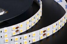 SMD5050 5m 175w 35w/m 144LED/M LED STRIP STRISCIA BIANCO CALDO 24V