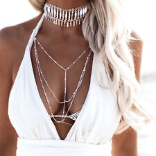 Minc Collection Gypsy Lovin Light Starlight Body Chain in Silver or Gold