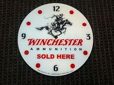 "*NEW*14.25"" WINCHESTER GUN ROUND GLASS FACE FOR PAM CLOCK"
