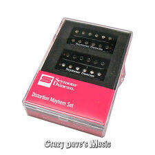 Seymour Duncan Distortion Mayhem Humbucker Pickup Set Bridge Neck NEW 11108-21-B