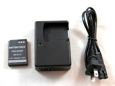 Charger and Battery for Nikon Coolpix AW100, AW100s, AW110, AW110s, P300, P310