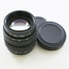 "50mm f/1.4 2/3"" CCTV lens for SONY E Mount camera NEX-7 NEX-3 NEX-5N 7 NEX5"