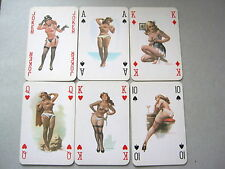 PIN UP ROMIKARTYA 1 1959 ARTIST SEBOK HUNGARY 52+3J VINTAGE PLAYING CARDS