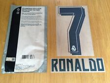 Kids 2015-16 RONALDO#7 La Liga Home Shirt OFFICIAL Sporting iD Name Number Set