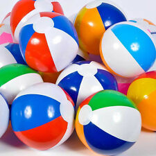 "1x 6Colors Baby Kid 24 Assorted Beach Balls 12"" Pool Party Beachball Outdoor Toy"