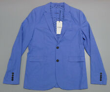 NEW Ben Sherman Suit Jacket Blazer BK4001173 Light Blue Men's XL Large $249.95