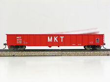 """WALTHERS/GOLDLINE HO R-T-R """"MKT"""" (RED) 53' THRALL GONDOLA #16270"""
