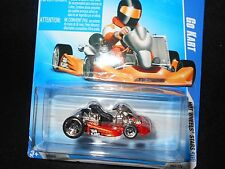 HW HOT WHEELS 08 HOT WHEELS STARS #62 GO KART HOTWHEELS ORANGE VHTF RARE