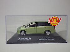 MITSUBISHI GRANDIS  Green Metallic  1:43  J-collection / Kyosho  NEW