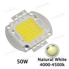 High Power 50W SMD Super LED Chip Natural white Bead COB light bulb 4000K 4500K