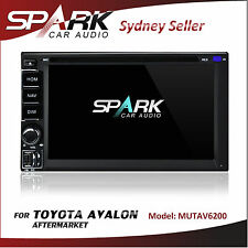 AFTERMARKET GPS DVD SAT NAV IPOD BLUETOOTH NAVIGATION TOYOTA AVALON STEREO RADIO