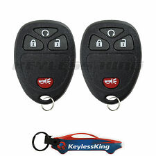 2 Replacement for Chevrolet HHR - 2006 2007 2008 2009 2010 2011 4btn RS Remote