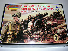 Strelets A003 - 8 Inch MKII Howitzer + Early British Crew  1:72  Plastic Figures