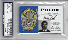 KENT MCCORD Signed ADAM 12 Los Angeles Police ID CARD TV Show JAMES REED PSA/DNA