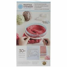 Lion Brand Yarn Company 1-Piece Martha Stewart Crafts Knit and Weave Loom Kit