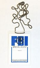 FBI - Special Agent - Unlamented ID Card w/ Neck Chain - Fun Novelty