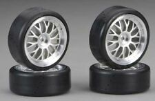 Traxxas 4873 Protrax 12mm Slick Mounted Tires/wheels (4) 1/10 Car NTC3 4-TEC