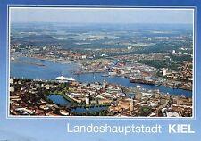 Alte Postkarte - Landeshauptstadt Kiel