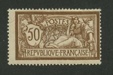 France 1900 Liberty & Peace 50c bistre brown & gray Sc #123 mhr