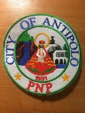 PATCH PHILIPPINES NATIONAL POLICE  (PNP)  - ANTIPOLO - ORIGINAL!