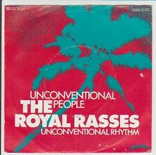 "7"" The Royal Rasses Unconventional People 70`s EMI Ballistic 1C 006-62 450"