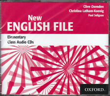 Oxford NEW ENGLISH FILE Elementary Class Audio CDs @NEW & SEALED@