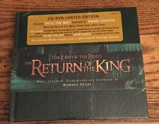 Rare Limited Edition CD/DVD Tolkien-The Lord Of The Rings The Return Of The King