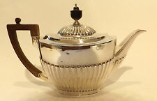 Teapot Sterling Silver 17ozs 490g  Robert Belk Georgian Revival Sheffield 1904