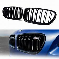 BMW 5-Series F10 F11 Painted Glossy Black Front Grille Grill Kidney 2016 M5 528i