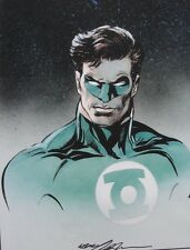 NEAL ADAMS rare GREEN LANTERN print SIGNED color COMMISSION Hal Jordan LAST ONE