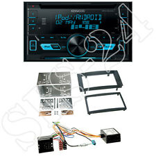 Kenwood DPX3000U Radio + VW Touareg/T5  Blende schwarz + CAN-BUS Adapter SET