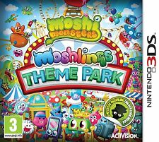 Cartucho sólo Moshi Monsters: parque Temático Moshlings (Nintendo 3DS) #A82