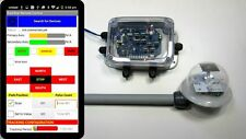 Dual Axis Solar Tracking Controller with Android Bluetooth Control