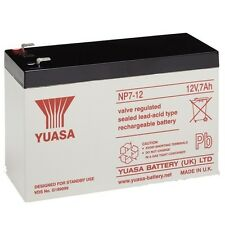 2 x YUASA AGM 12v 7Ah (as 6Ah & 10Ah) - MOBILITY SCOOTER WHEELCHAIR BATTERIE