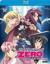 Familiar of Zero: Knight of the Twin Moons (Blu-ray Disc) Ssn 2 Anime Lot (S)