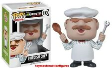 FUNKO POP MUPPETS MOST WANTED SWEDISH CHEF #10 Vinyl Figure MIMB In Stock