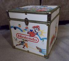 Vintage Nintendo Super Mario/Zelda Toy Box-Chest-Storage Trunk