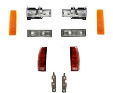 Headlights Parklamps Tail Lights Side Markers Gmc Truck 88-93 92-93 Suburban