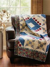 """Glorified Medallion        Finished  Size - 65-1/2""""x83""""      Quilt  Pattern Only"""