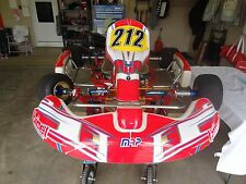2012 Birel RY30 S4 Go Kart Race Ready with TWO engines - WILL DELIVER