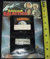 1978 RARE BATTLE-STAR GALACTICA I-D SET SEALED IN PKG CARD RARE!! NEW COND@!!