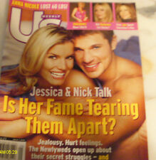 Jessica Simpson Covers US Weekly Magazine March  2004 Anna Nicole Smith