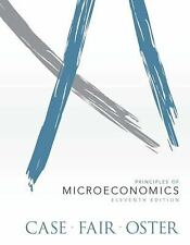 Principles of Microeconomics by Sharon Oster, Ray C. Fair and Karl E. Case...