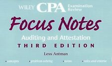 Wiley CPA Examination Review Focus Notes, Auditing and Attestation (Wiley Focus