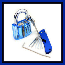 Profi Jackknife tasche-PICK lockpicking Set + CASTELLO Dietrich decifrazione pickset