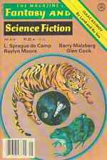 F & SF May 1978 - L Sprague de Camp, Barry Maltzberg, Glen Cook, Raylyn Moore