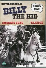 BILLY THE KID WESTERN - 2 CLASSIC FILMS SMOKING GUNS & TRAPPED ON 1 DVD