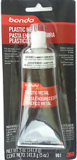 3M BONDO 901 PLASTIC METAL - Seals & Fills Almost Any Metal Surface 5 oz