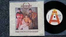 Mecano - The uninvited guest US PROMO 7'' Single SUNG IN ENGLISH