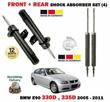 FOR BMW 330D 335D 2005-2011 NEW 2x FRONT + 2X REAR SHOCK SHOCKER ABSORBER 4 SET